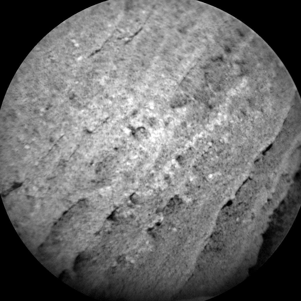 Nasa's Mars rover Curiosity acquired this image using its Chemistry & Camera (ChemCam) on Sol 1092, at drive 1876, site number 49