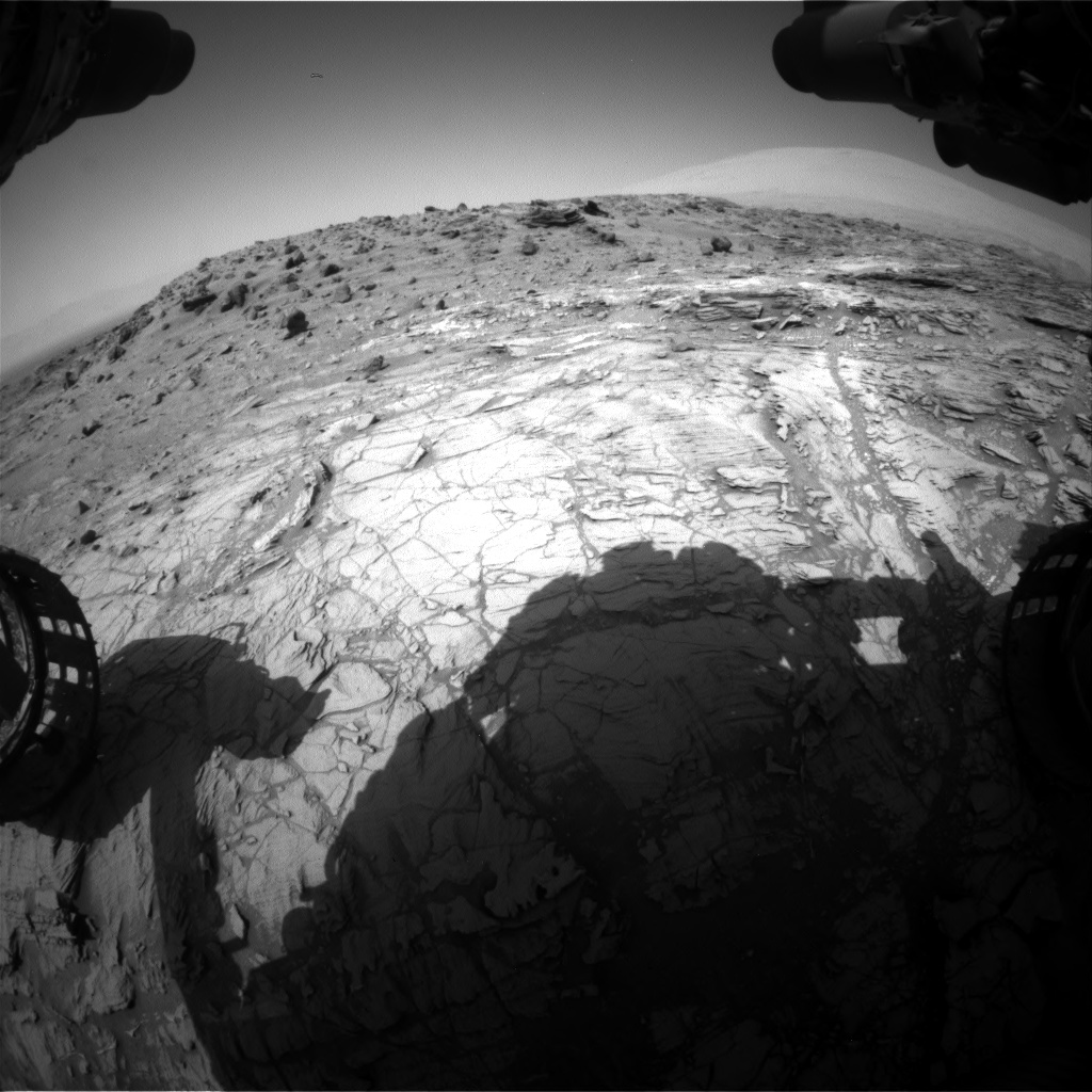 Nasa's Mars rover Curiosity acquired this image using its Front Hazard Avoidance Camera (Front Hazcam) on Sol 1093, at drive 2026, site number 49