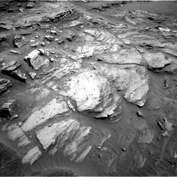 Nasa's Mars rover Curiosity acquired this image using its Left Navigation Camera on Sol 1093, at drive 1912, site number 49