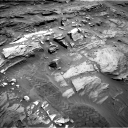 Nasa's Mars rover Curiosity acquired this image using its Left Navigation Camera on Sol 1093, at drive 1918, site number 49