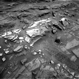 Nasa's Mars rover Curiosity acquired this image using its Left Navigation Camera on Sol 1093, at drive 1924, site number 49