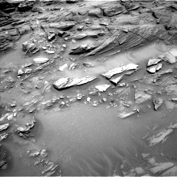 Nasa's Mars rover Curiosity acquired this image using its Left Navigation Camera on Sol 1093, at drive 1966, site number 49