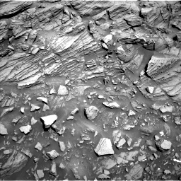 Nasa's Mars rover Curiosity acquired this image using its Left Navigation Camera on Sol 1093, at drive 2002, site number 49