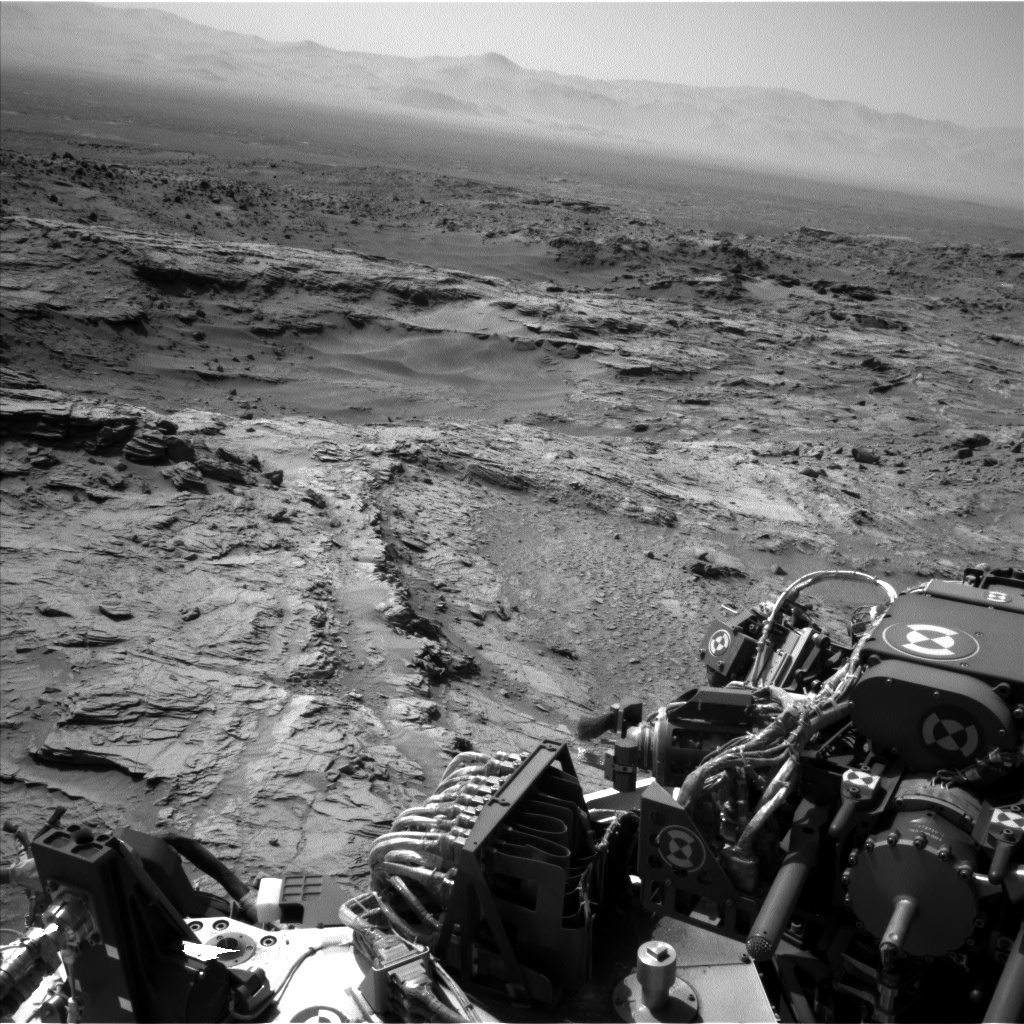Nasa's Mars rover Curiosity acquired this image using its Left Navigation Camera on Sol 1093, at drive 2026, site number 49