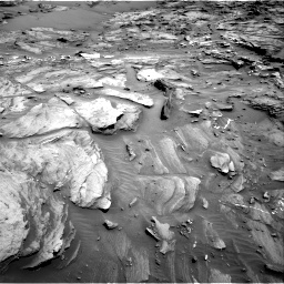 Nasa's Mars rover Curiosity acquired this image using its Right Navigation Camera on Sol 1093, at drive 1882, site number 49
