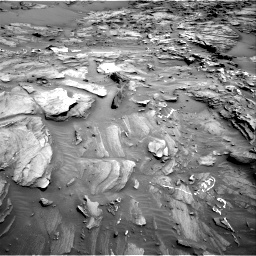 Nasa's Mars rover Curiosity acquired this image using its Right Navigation Camera on Sol 1093, at drive 1888, site number 49