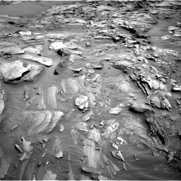 Nasa's Mars rover Curiosity acquired this image using its Right Navigation Camera on Sol 1093, at drive 1894, site number 49