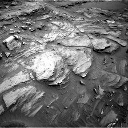 Nasa's Mars rover Curiosity acquired this image using its Right Navigation Camera on Sol 1093, at drive 1912, site number 49