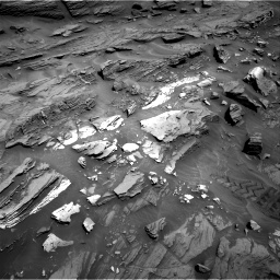 Nasa's Mars rover Curiosity acquired this image using its Right Navigation Camera on Sol 1093, at drive 1930, site number 49