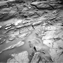 Nasa's Mars rover Curiosity acquired this image using its Right Navigation Camera on Sol 1093, at drive 1948, site number 49