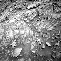 Nasa's Mars rover Curiosity acquired this image using its Right Navigation Camera on Sol 1093, at drive 2014, site number 49