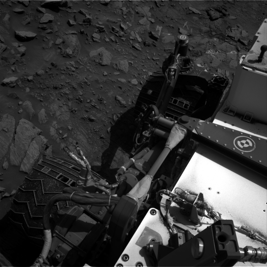 Nasa's Mars rover Curiosity acquired this image using its Right Navigation Camera on Sol 1093, at drive 2026, site number 49