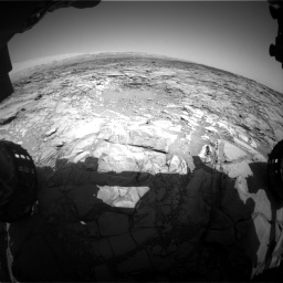 Nasa's Mars rover Curiosity acquired this image using its Front Hazard Avoidance Camera (Front Hazcam) on Sol 1094, at drive 2230, site number 49