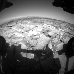 Nasa's Mars rover Curiosity acquired this image using its Front Hazard Avoidance Camera (Front Hazcam) on Sol 1094, at drive 2224, site number 49