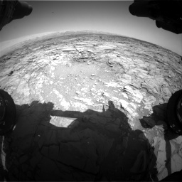 Nasa's Mars rover Curiosity acquired this image using its Front Hazard Avoidance Camera (Front Hazcam) on Sol 1094, at drive 2236, site number 49