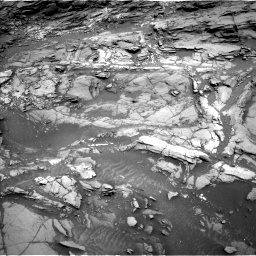 Nasa's Mars rover Curiosity acquired this image using its Left Navigation Camera on Sol 1094, at drive 2146, site number 49