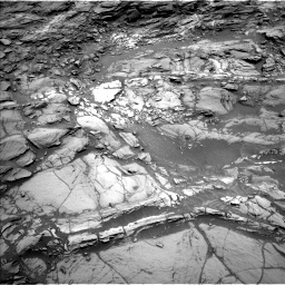 Nasa's Mars rover Curiosity acquired this image using its Left Navigation Camera on Sol 1094, at drive 2158, site number 49
