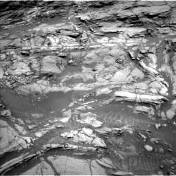 Nasa's Mars rover Curiosity acquired this image using its Left Navigation Camera on Sol 1094, at drive 2164, site number 49