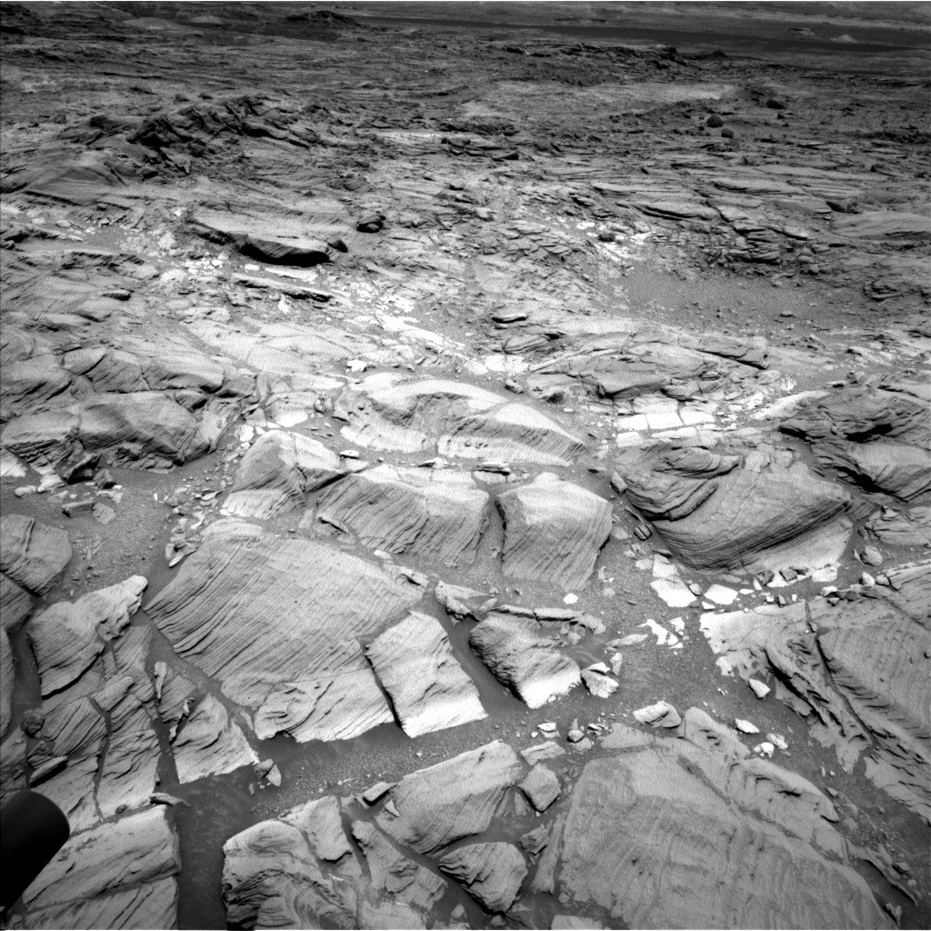Nasa's Mars rover Curiosity acquired this image using its Left Navigation Camera on Sol 1094, at drive 2212, site number 49