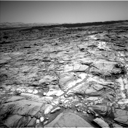 Nasa's Mars rover Curiosity acquired this image using its Left Navigation Camera on Sol 1094, at drive 2218, site number 49