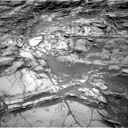 Nasa's Mars rover Curiosity acquired this image using its Right Navigation Camera on Sol 1094, at drive 2158, site number 49