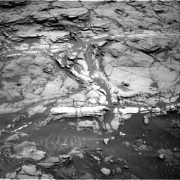 Nasa's Mars rover Curiosity acquired this image using its Right Navigation Camera on Sol 1094, at drive 2182, site number 49