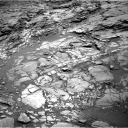 Nasa's Mars rover Curiosity acquired this image using its Right Navigation Camera on Sol 1094, at drive 2200, site number 49