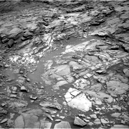 Nasa's Mars rover Curiosity acquired this image using its Right Navigation Camera on Sol 1094, at drive 2206, site number 49