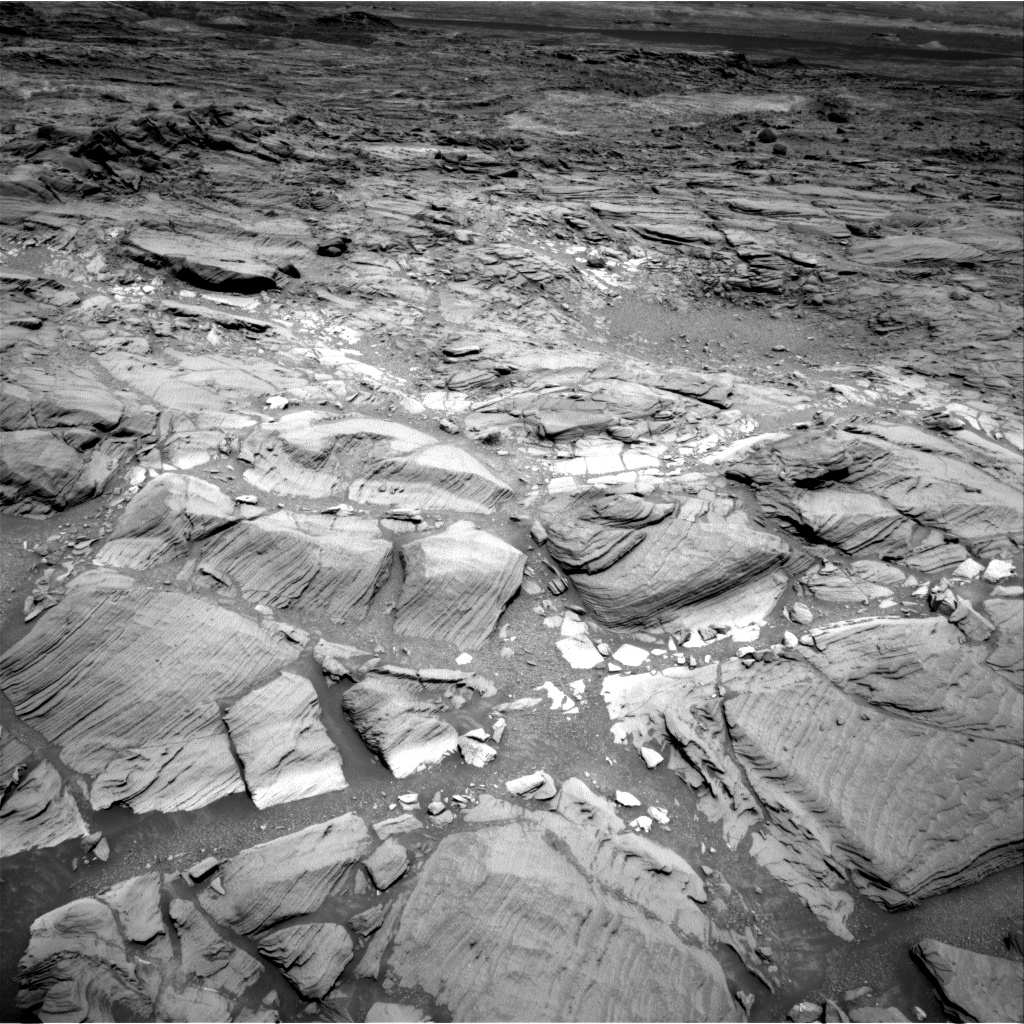 Nasa's Mars rover Curiosity acquired this image using its Right Navigation Camera on Sol 1094, at drive 2212, site number 49