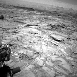 Nasa's Mars rover Curiosity acquired this image using its Right Navigation Camera on Sol 1094, at drive 2218, site number 49