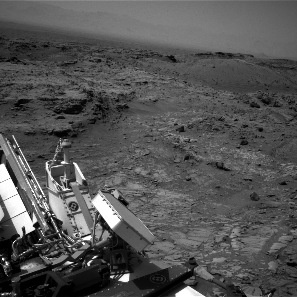 Nasa's Mars rover Curiosity acquired this image using its Right Navigation Camera on Sol 1094, at drive 2236, site number 49