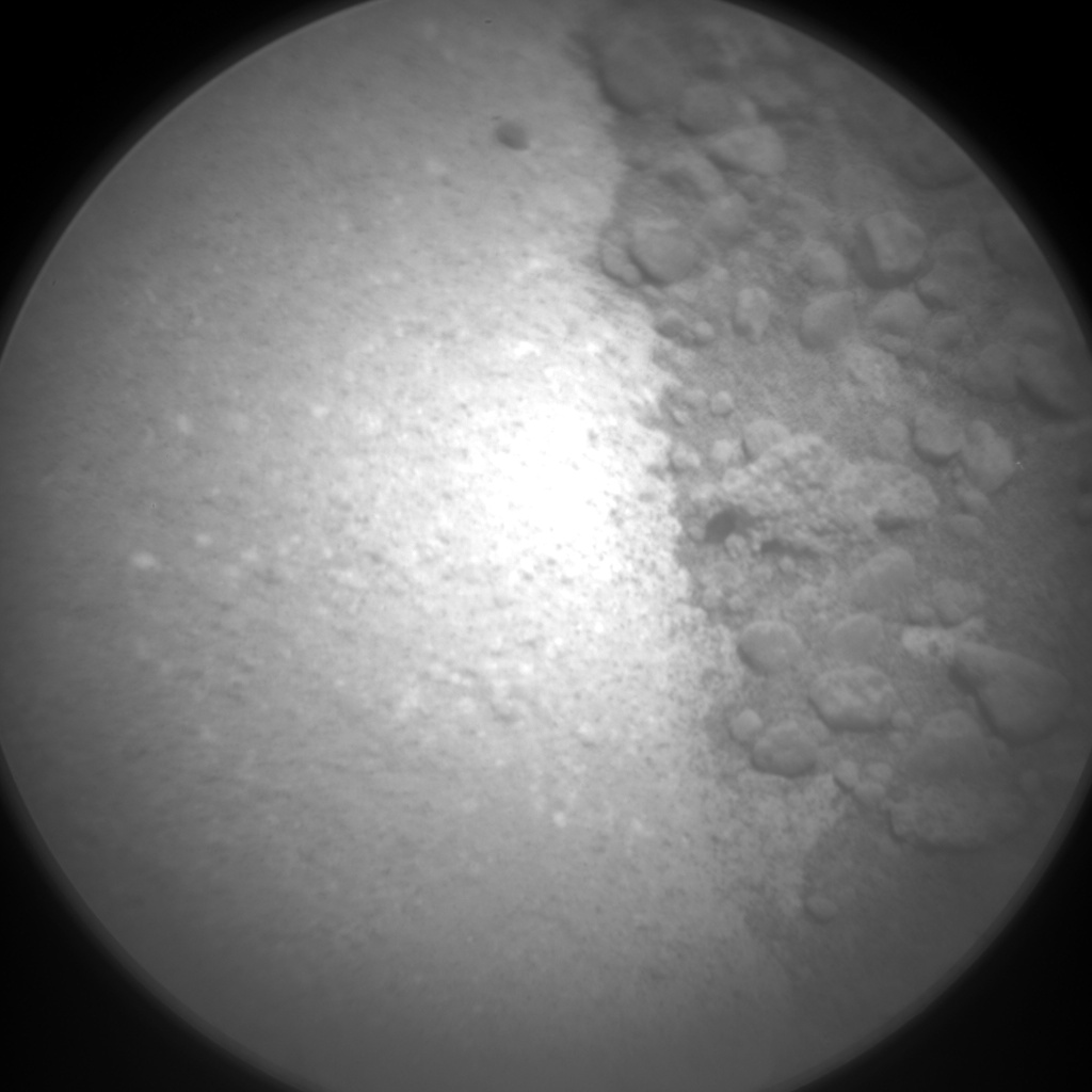Nasa's Mars rover Curiosity acquired this image using its Chemistry & Camera (ChemCam) on Sol 1095, at drive 2236, site number 49