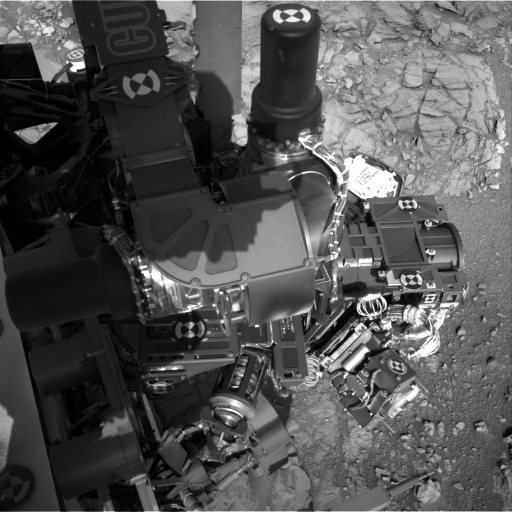 Nasa's Mars rover Curiosity acquired this image using its Right Navigation Camera on Sol 1097, at drive 2236, site number 49