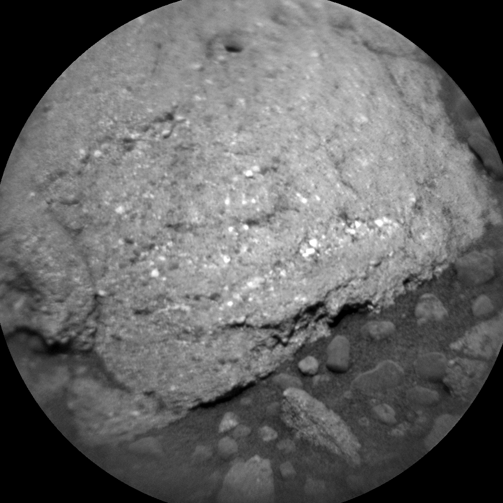 Nasa's Mars rover Curiosity acquired this image using its Chemistry & Camera (ChemCam) on Sol 1097, at drive 2236, site number 49