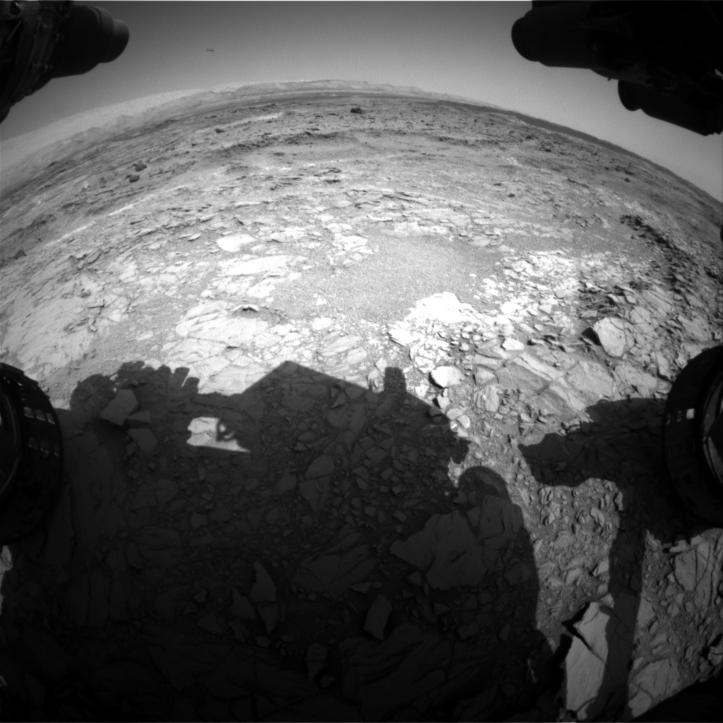 Nasa's Mars rover Curiosity acquired this image using its Front Hazard Avoidance Camera (Front Hazcam) on Sol 1098, at drive 2374, site number 49