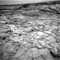 Nasa's Mars rover Curiosity acquired this image using its Left Navigation Camera on Sol 1098, at drive 2260, site number 49