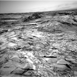 Nasa's Mars rover Curiosity acquired this image using its Left Navigation Camera on Sol 1098, at drive 2272, site number 49