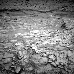 Nasa's Mars rover Curiosity acquired this image using its Left Navigation Camera on Sol 1098, at drive 2338, site number 49