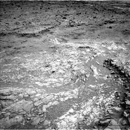 Nasa's Mars rover Curiosity acquired this image using its Left Navigation Camera on Sol 1098, at drive 2374, site number 49