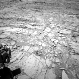 Nasa's Mars rover Curiosity acquired this image using its Right Navigation Camera on Sol 1098, at drive 2338, site number 49
