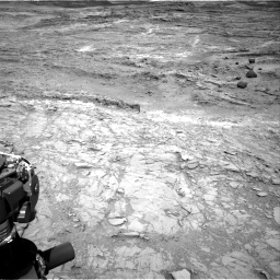 Nasa's Mars rover Curiosity acquired this image using its Right Navigation Camera on Sol 1098, at drive 2368, site number 49