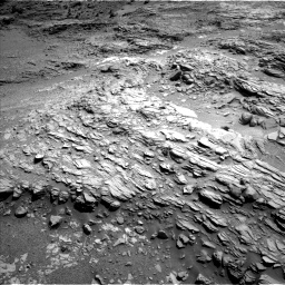 Nasa's Mars rover Curiosity acquired this image using its Left Navigation Camera on Sol 1099, at drive 2398, site number 49