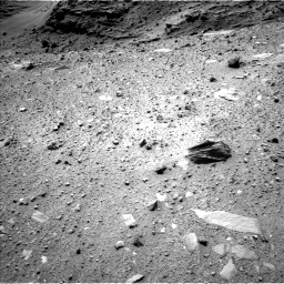 NASA's Mars rover Curiosity acquired this image using its Left Navigation Camera (Navcams) on Sol 1099