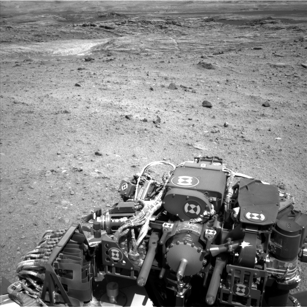 Nasa's Mars rover Curiosity acquired this image using its Left Navigation Camera on Sol 1099, at drive 2626, site number 49