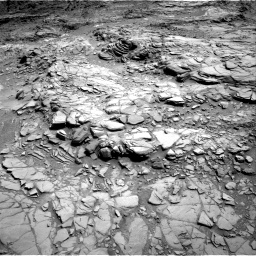 Nasa's Mars rover Curiosity acquired this image using its Right Navigation Camera on Sol 1099, at drive 2374, site number 49