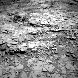 Nasa's Mars rover Curiosity acquired this image using its Right Navigation Camera on Sol 1099, at drive 2380, site number 49