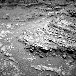 Nasa's Mars rover Curiosity acquired this image using its Right Navigation Camera on Sol 1099, at drive 2410, site number 49