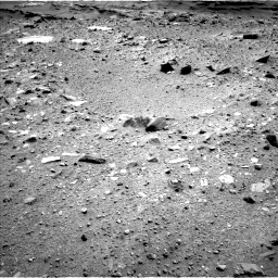 Nasa's Mars rover Curiosity acquired this image using its Left Navigation Camera on Sol 1100, at drive 2722, site number 49