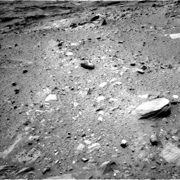 Nasa's Mars rover Curiosity acquired this image using its Left Navigation Camera on Sol 1100, at drive 2824, site number 49