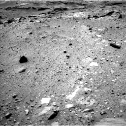 Nasa's Mars rover Curiosity acquired this image using its Left Navigation Camera on Sol 1100, at drive 2836, site number 49